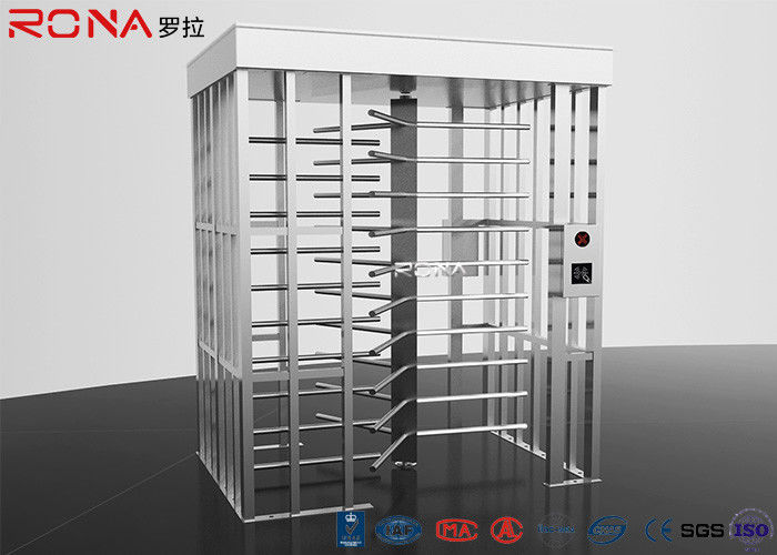 RFID Access Control Full Height Turnstile Automatic 120 Degree Single Channel