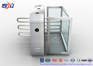 Trung Quốc Pedestrian Swing Barrier Waist Height Turnstiles Entrance Security For Shopping Mall nhà máy sản xuất